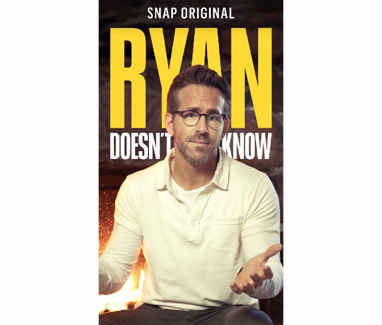 Ryan Reynolds Announces New Snapchat Show 'Ryan Doesn't Know'