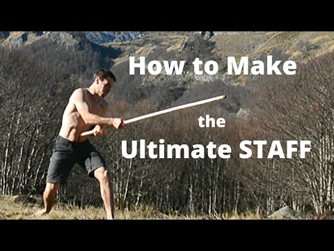 How to make your own martial arts staff