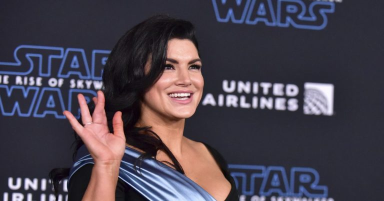 Gina Carano dropped from 'The Mandalorian' after 'abhorrent' and 'unacceptable' social media posts