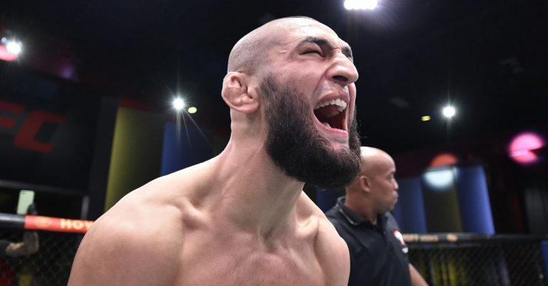 Khamzat Chimaev out of fight against Leon Edwards at UFC event on March 13