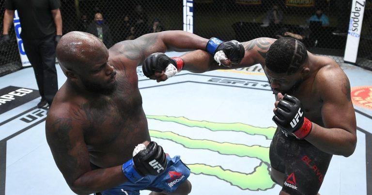 UFC Vegas 19 bonuses: Derrick Lewis leads list of winners on finish-heavy night