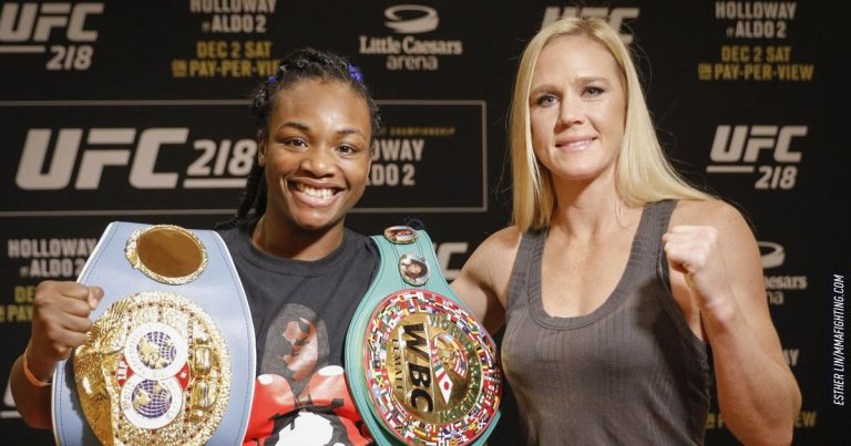 Ex-UFC champ Holly Holm joins broadcast team for upcoming all-women's boxing PPV headlined by Claressa Shields