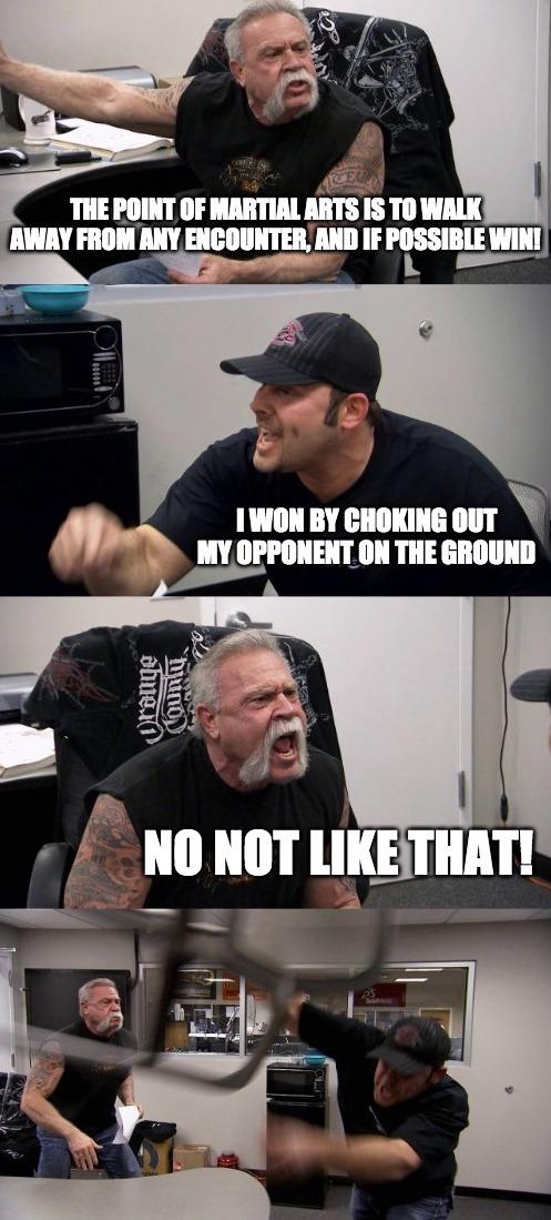 Martial arts meme time