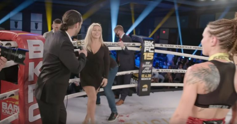 Video: BKFC's 'Road to KnuckleMania' series features Paige VanZant, Britain Hart