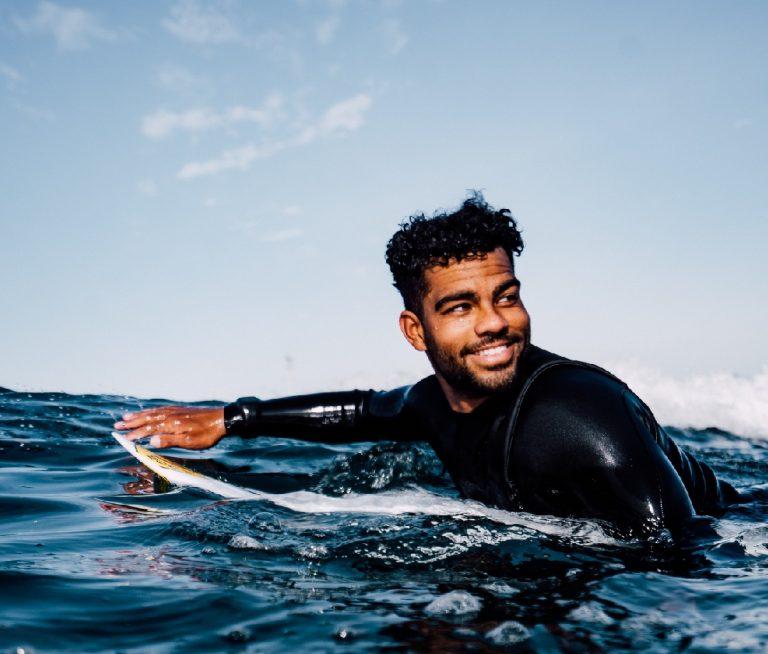 Black Pro Surfer Hunter Jones' Fight For Diversity in the Water