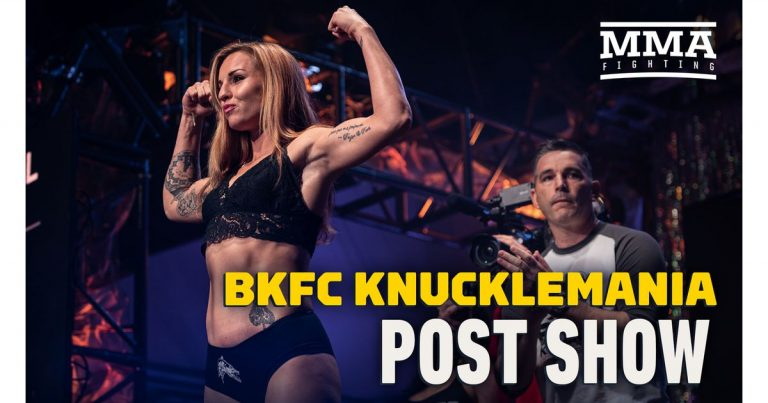 Video: BKFC KnuckleMania post-fight show