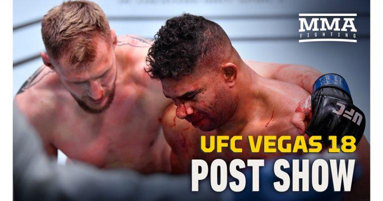 Video: UFC Vegas 18 post-fight show