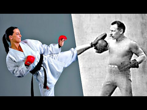 Where Karate got its kicks from (it was the French!)