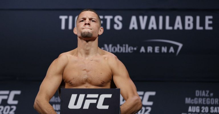 Nate Diaz vs. Leon Edwards booked for UFC 262 in five-round non-title fight co-main event