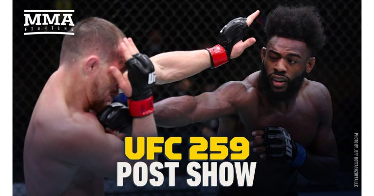 Video: UFC 259 post-fight show