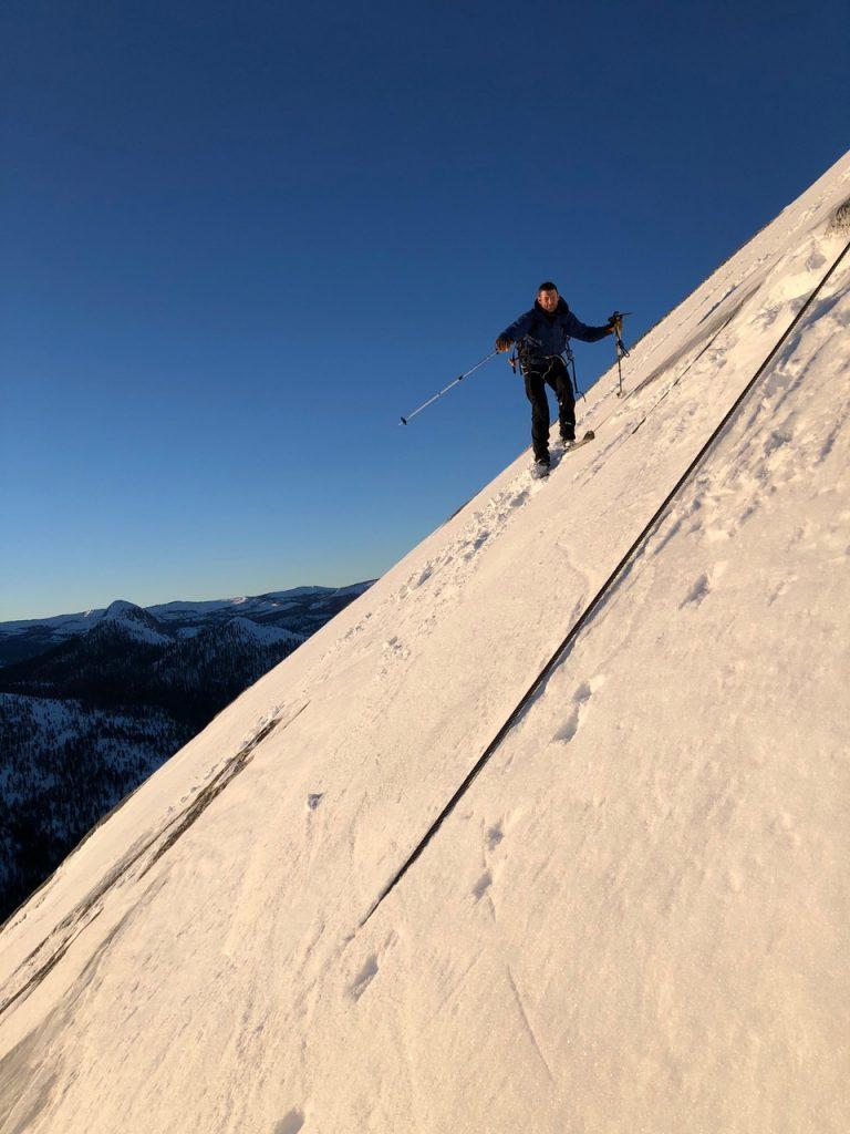 How the Half Dome Duo Rigged for a Historic Yosemite Ski Descent
