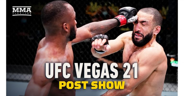 Video: UFC Vegas 21 post-fight show