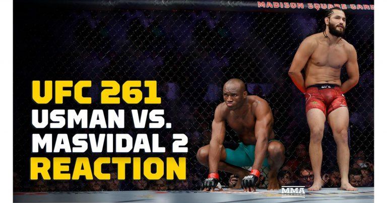 Video: Kamaru Usman vs. Jorge Masvidal 2 headlines UFC 261 reaction