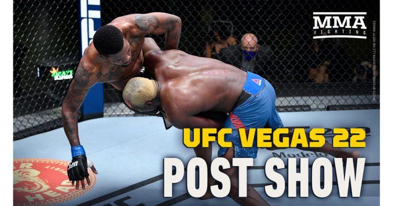 Video: UFC Vegas 22 post-fight show