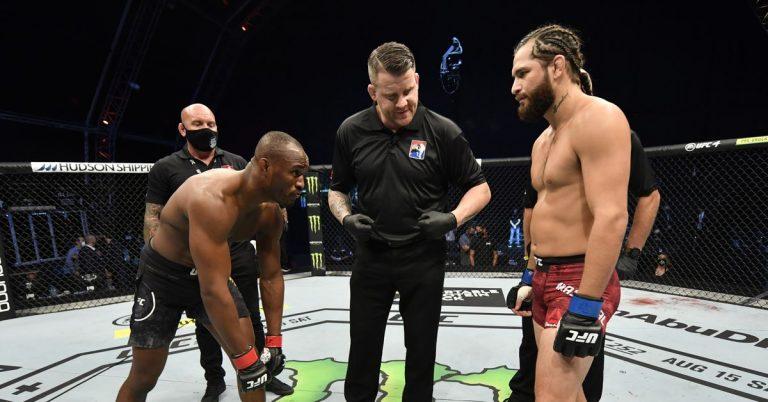 Jorge Masvidal wants trilogy fight with Kamaru Usman 'when I win the rematch' at UFC 261