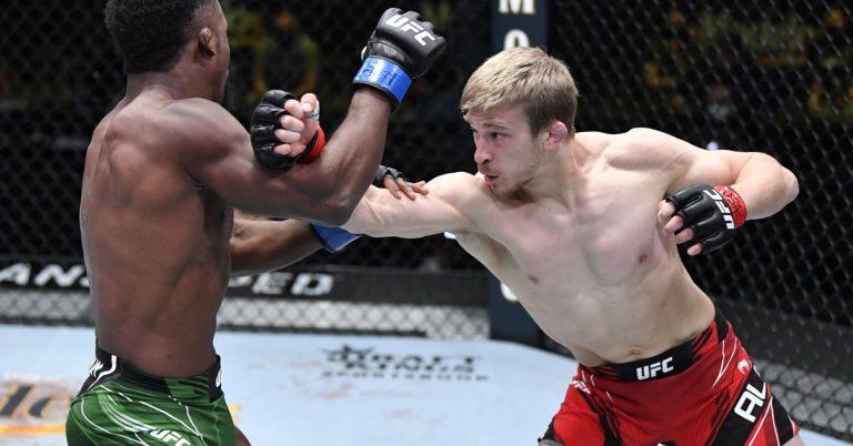 Arnold Allen sees ideal matchup with Korean Zombie-Dan Ige winner following UFC Vegas 23 win