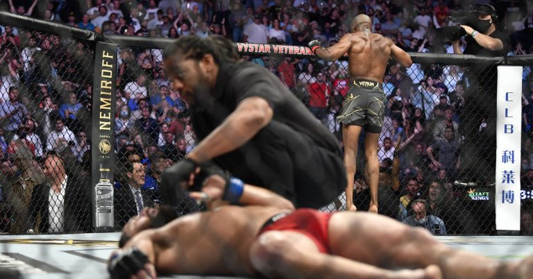 UFC 261 in Tweets: Fighters react to brutal finishes by Kamaru Usman and Rose Namajunas