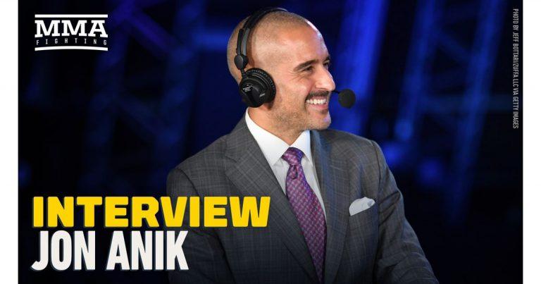 Video: Jon Anik reacts to Francis Ngannou's title win, Nate Diaz vs. Leon Edwards, more