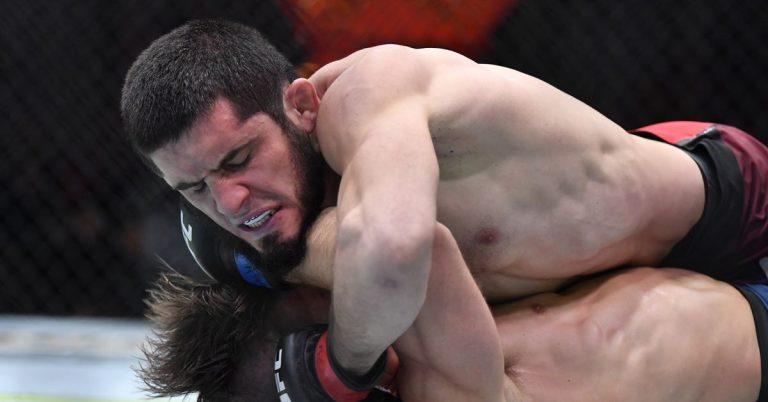 Islam Makhachev vs. Thiago Moises set for July 17 UFC event