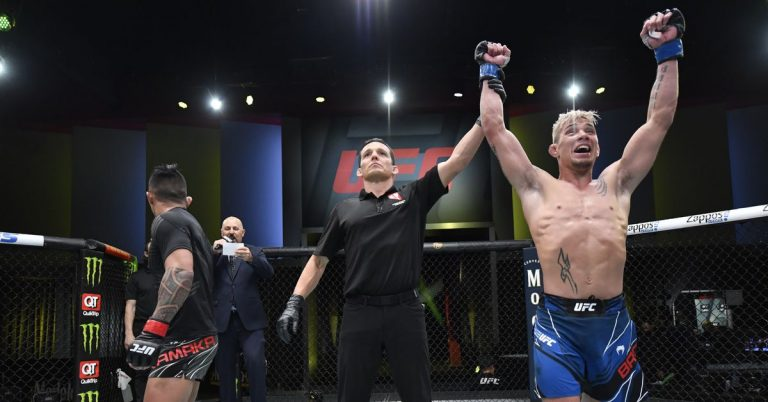 Kai Kamaka's manager filing appeal over 'blatantly horrible decision' in his loss to T.J. Brown at UFC Vegas 25